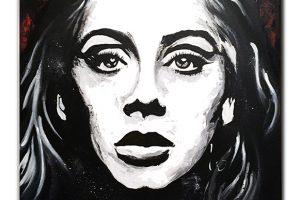 Actylic on canvas 100x70 cm