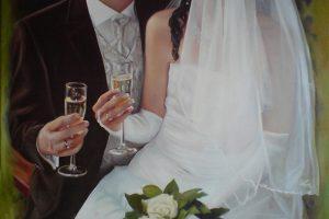 Oil on Cnavas 60 x80 cm