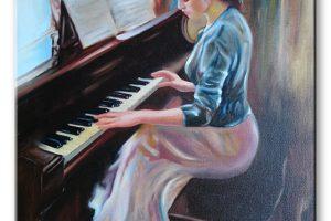 Oil on canvas  40x60cm