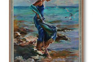 Oil on Canvas 60x40cm