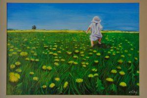 Oil on Canvas 90x110cm